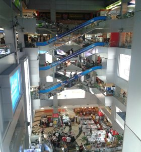 Overview of MBK shopping center