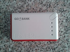 Use a power bank to recharge your phone