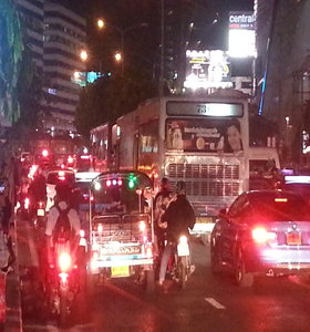 Rush hour in Bangkok