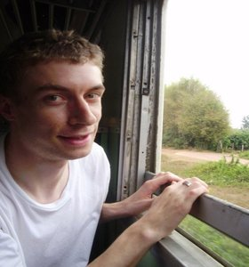300 days abroad. One of those days I traveled with a Thai train
