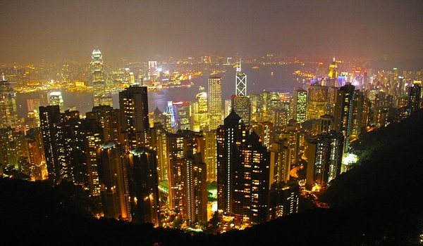 Marvel at the Hong Kong skyline  on top of Kowloon rooftop bars